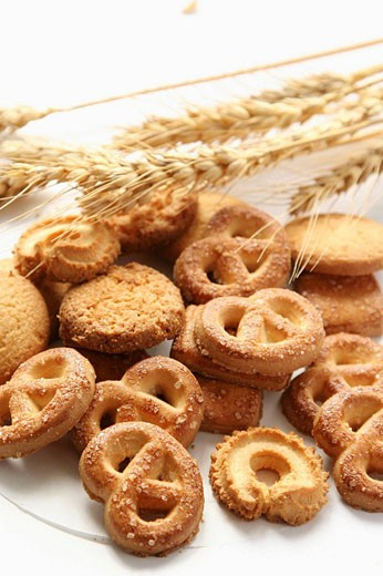 close-up of Various Cookies : Stock Photo