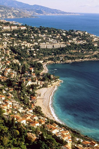Roquebrune Cap Martin Alpes-Maritimes 06 French Riviera Cote d´Azur France Europe : Stock Photo