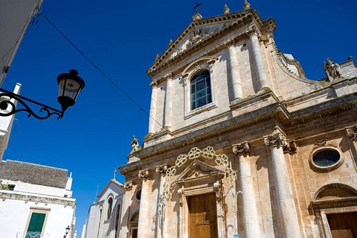 Church, Locorotondo, Puglia, Italy : Stock Photo