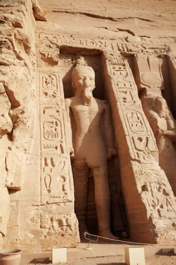 Temple of Hathor, Abu Simbel, Egypt : Stock Photo