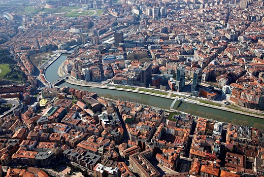 Bilbao, Biscay, Basque Country, Spain : Stock Photo