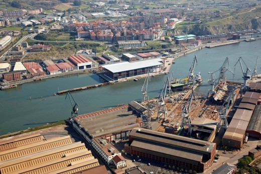 Stock Photo: 1566-517422 Port, Bilbao, Biscay, Basque Country, Spain