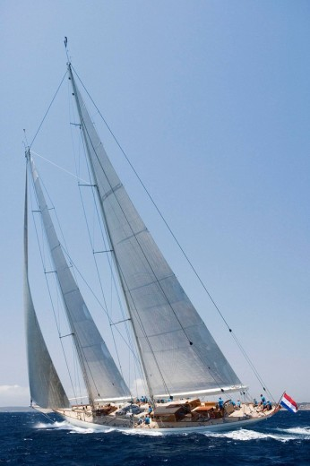 Stock Photo: 1566-519566 The Super Yacht Cup, Palma de Mallorca, Spain
