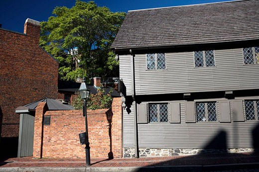 Paul Revere House, Boston, Massachusetts, USA : Stock Photo