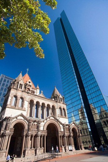 John Hancock Tower, Boston, Massachusetts, USA : Stock Photo