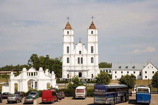 Aglona Basilica, Aglona. Latgalia, Latvia : Stock Photo