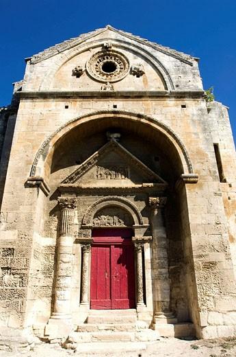 St Gabriel chapel, Tarascon. Bouches-du-Rhône, France : Stock Photo
