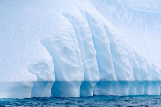Iceberg in the Lemaire Channel, Antarctica : Stock Photo