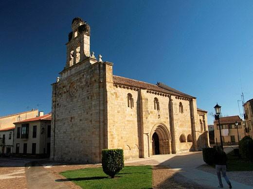 Iglesia de San Isidoro. Zamora. Castilla y León. España. : Stock Photo