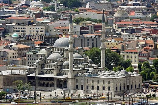 Stock Photo: 1566-527689 Yeni Mosque, Istanbul, Turkey