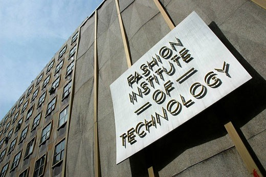 New York City (USA): the Fashion Institute of Technology (FIT) : Stock Photo