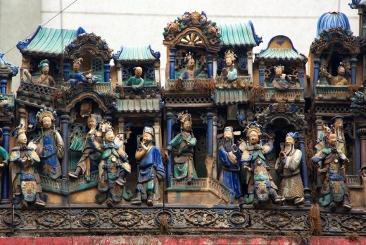 Thien Hau temple, Ho Chi Minh City, Vietnam : Stock Photo