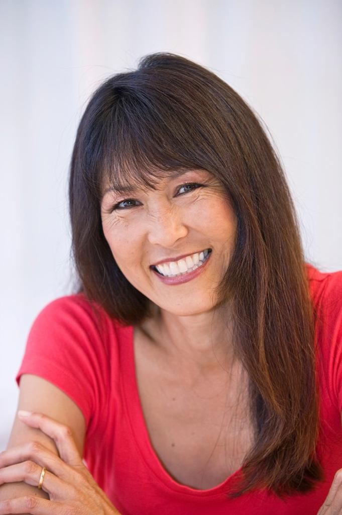 Stock Photo: 1566-531580 Portrait Chinese American woman
