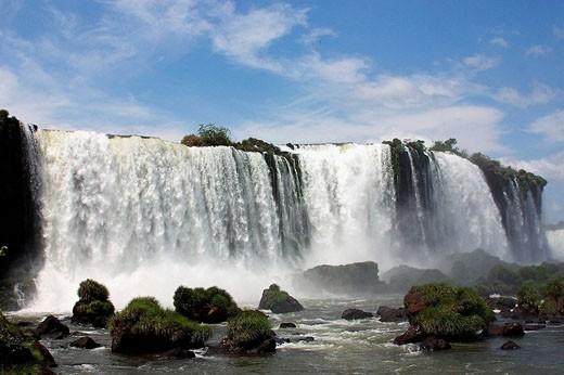 Iguazu Falls, Argentina/Brazil border : Stock Photo