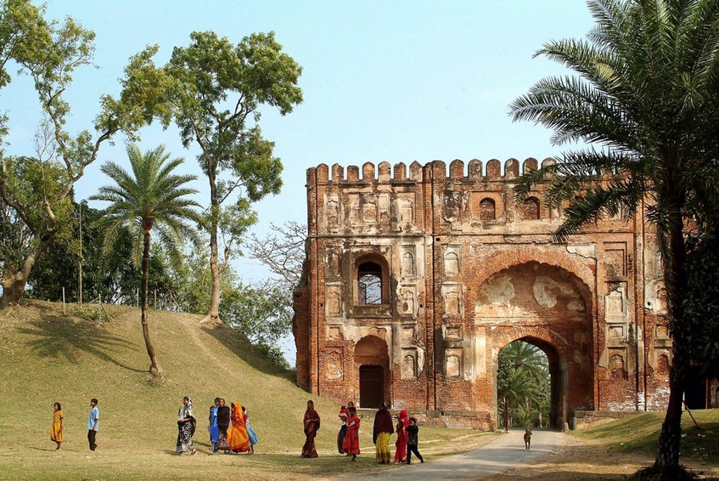 Stock Photo: 1566-532569 Lukochuri Darwaja, Gaur, West Bengal, India