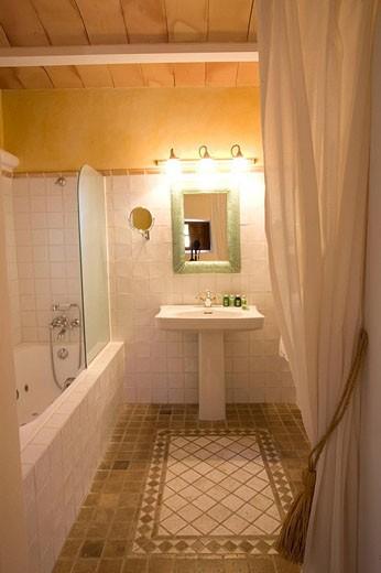 Stock Photo: 1566-533959 ´Masia´ typical Balearic architectura, Ibiza. Balearic Islands, Spain