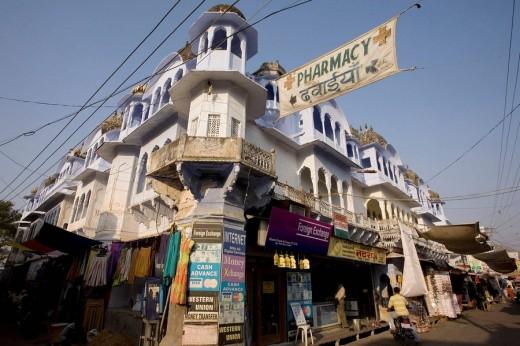 Stock Photo: 1566-534045 Pushkar, Rajasthan, India