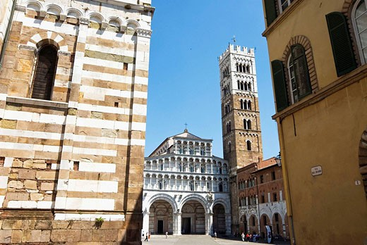 Stock Photo: 1566-534121 Cathedral of St Martin, Lucca. Tuscany, Italy