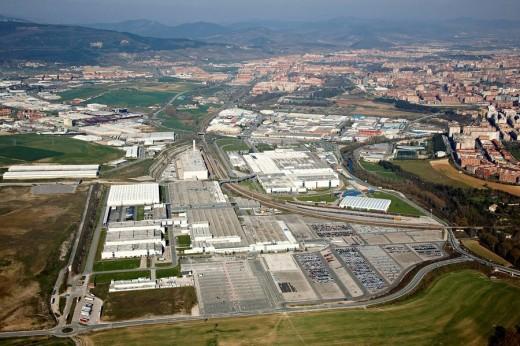 Stock Photo: 1566-535914 Volkswagen, Landaben industrial area, Pamplona, Navarre, Spain