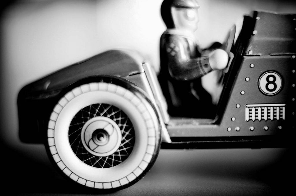 Tin toy : Stock Photo