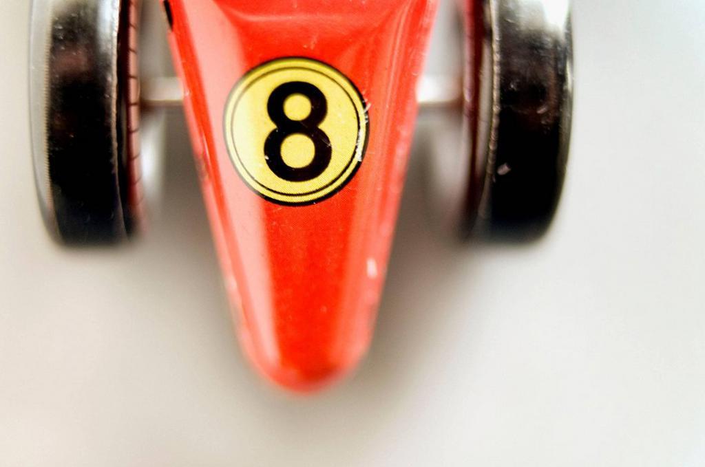 Stock Photo: 1566-538014 Tin toy