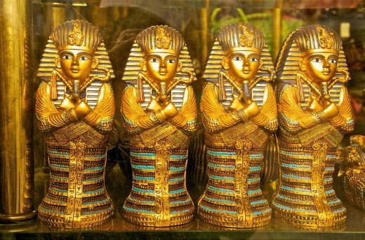 Tourist souvenirs, Egypt : Stock Photo