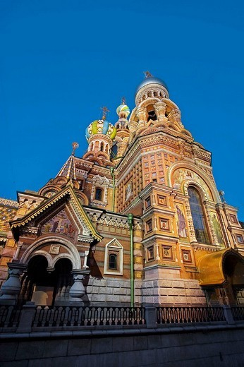 Stock Photo: 1566-538317 Church of the Bleeding Savior, Saint Petersburg, Russia