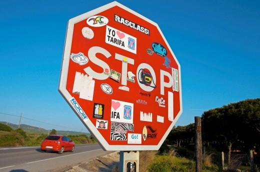 Tarifa. Cadiz province, Andalusia, Spain : Stock Photo