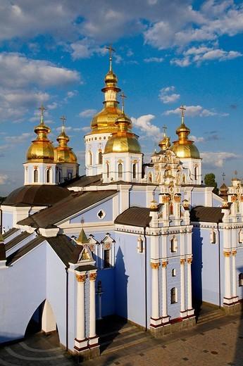 Stock Photo: 1566-539556 St. Michael´s Golden-Domed Monastery, Kiev, Ukraine