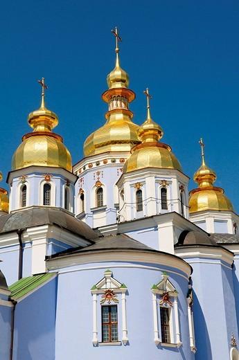 Stock Photo: 1566-539560 St. Michael´s Golden-Domed Monastery, Kiev, Ukraine