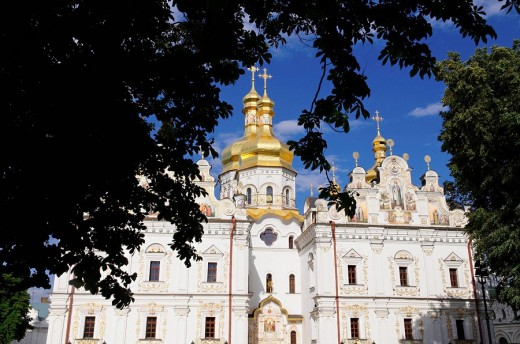 Kiev Monastery of the Caves Orthodox christian monastery, Kiev, Ukraine : Stock Photo