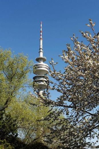 Olympiaturm, Munich, Bavaria, Germany : Stock Photo