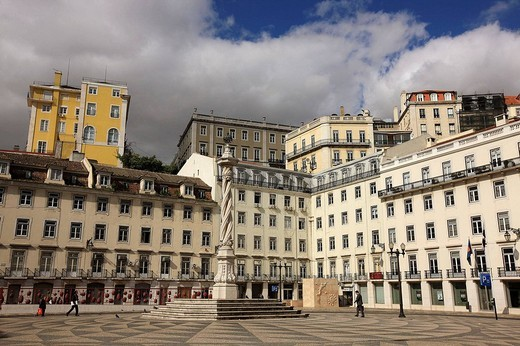 Stock Photo: 1566-541374 Praça do Municipio (City Hall Square), Lisbon, Portugal