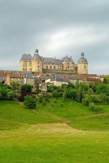 Stock Photo: 1566-541897 Hautefort. Dordogne, Aquitaine, France