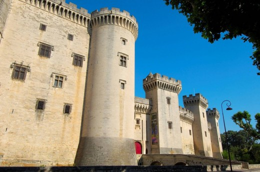 Stock Photo: 1566-542616 King René´s Castle, Tarascon. Bouches-du-Rhône, Provence-Alpes-Côte d´Azur, France