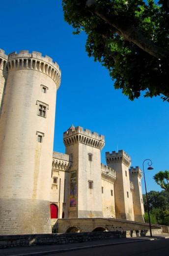 Stock Photo: 1566-542617 King René´s Castle, Tarascon. Bouches-du-Rhône, Provence-Alpes-Côte d´Azur, France