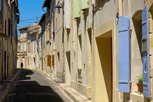 Tarascon medieval town. Bouches-du-Rhône, Provence-Alpes-Côte d´Azur, France : Stock Photo