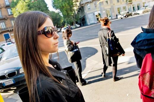 Stock Photo: 1566-550860 Daily life, Milan, Italy