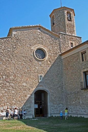 Nuestra señora de Lord sanctuary. Solsones. Catalonia. Spain. : Stock Photo