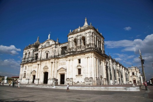 Stock Photo: 1566-552117 Basilica Cathedral of the Assumption, Leon, Nicaragua