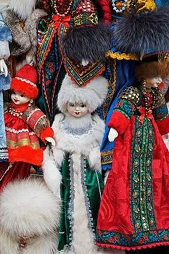 Stock Photo: 1566-554958 Dolls, St. Petersburg, Russia