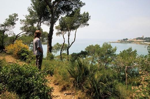 Punta de la Mora, Tarragonès, Tarragona, Spain : Stock Photo