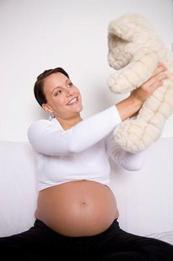 Stock Photo: 1566-562315 Pregnant women.