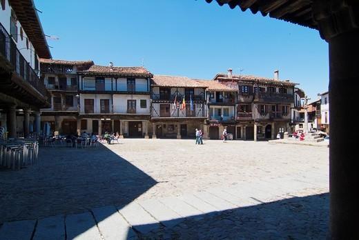 La Alberca. Salamanca. Castilla y León. Spain. Europe. : Stock Photo