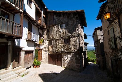 Mogarraz. Salamanca. Castilla y Leon. Spain. Europe. : Stock Photo