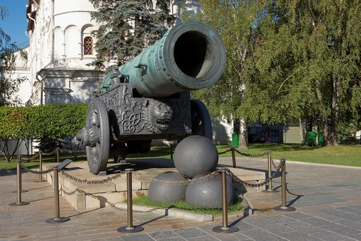 Stock Photo: 1566-569692 Tsar Cannon  Kremlin, Moscow, Russia