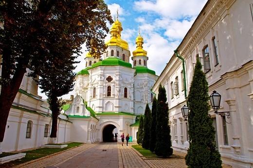 Kiev-Pechersk Lavra Cave monastery Kiev Ukraine Europe : Stock Photo