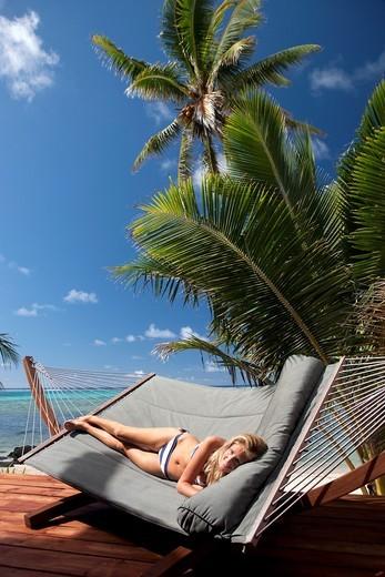 Rarotonga, The Cook Islands : Stock Photo