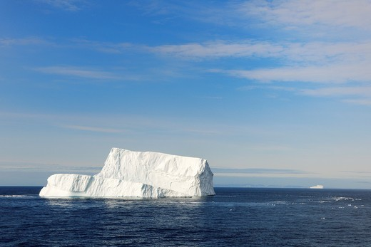 Stock Photo: 1566-570894 Icerberg in Davis Strait off south Baffin island, Nunavut, Canada