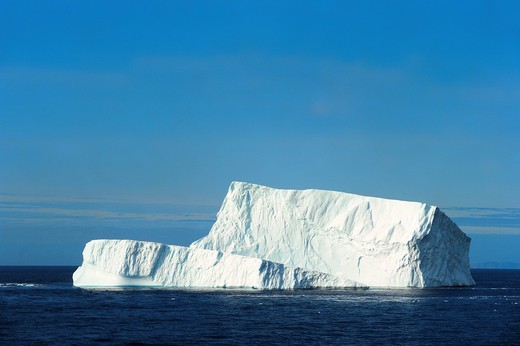 Stock Photo: 1566-570899 Icerberg in Davis Strait off south Baffin island, Nunavut, Canada
